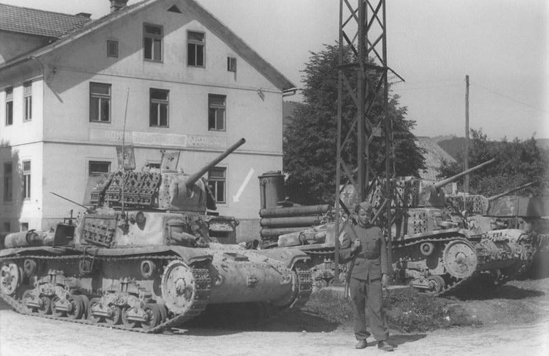 German Tanks that ran on wood-gas
