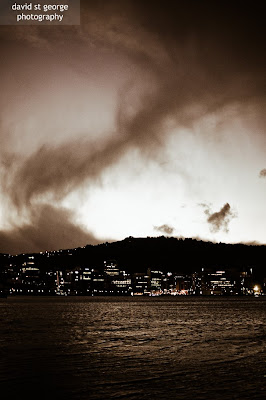 Cloud Formation Wellington David St George Photography