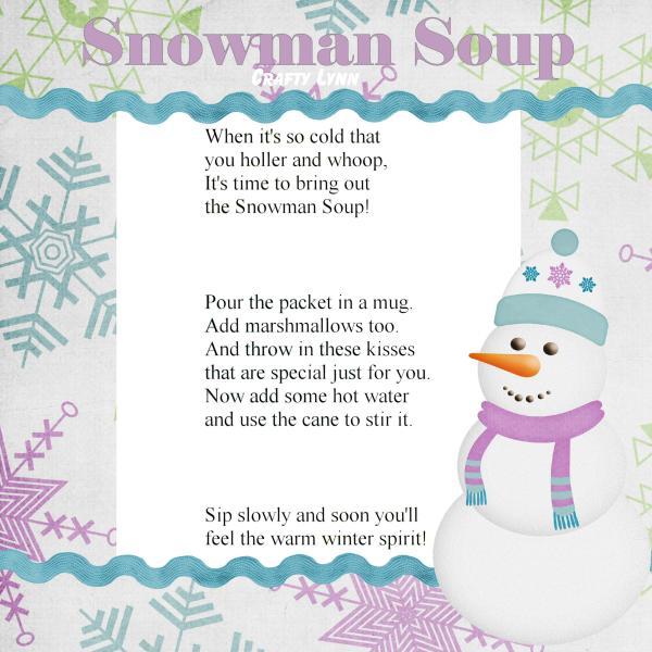 Snowman Soup Poem http://crafty-lynn.blogspot.com/2010/12/snowman-soup ...