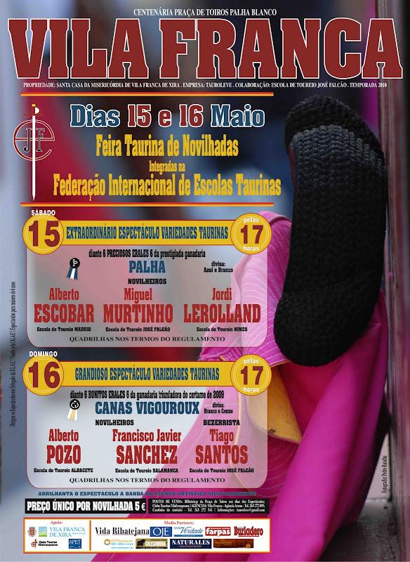 Feira de Novilhadas este fim-de-semana em Vila Franca title=