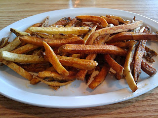 Complimentary Plate of Fresh-cut Fries