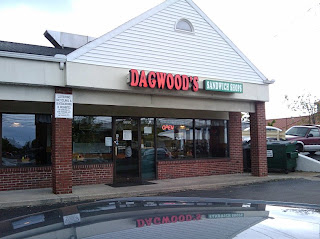 Storefront of Dagwood's Sandwich Shop