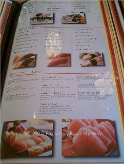 Cilantro's Menu Page 5
