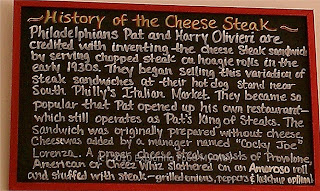 Origin of the cheesesteak