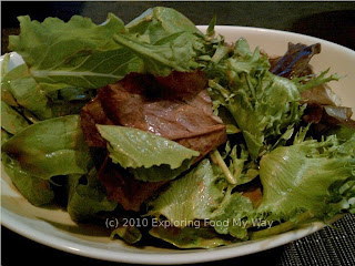 Salad Greens with Balsamic Vinaigrette