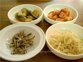 First Set of Banchan
