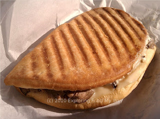 Italian Roast Beef Panini