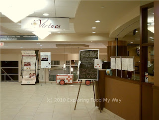 Entrance to Virtues Restaurant