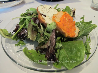 House Salad with Red Wine Vinaigrette