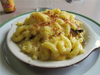 Macaroni and Cheese with Roasted Eggplant