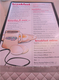 Steel Trolley Diner's Menu Page 8