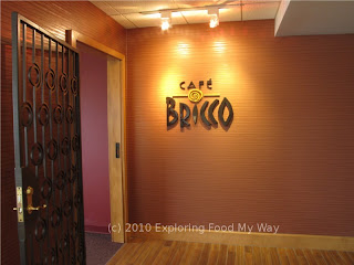 Entrance to Cafe Bricco