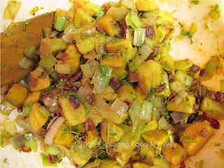 Finished Warm Sweet Potato Salad