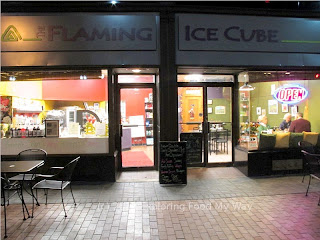 Storefront of Flaming Ice Cube