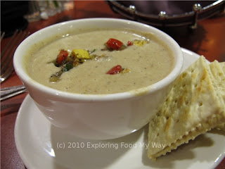 Cup of Roasted Eggplant Soup