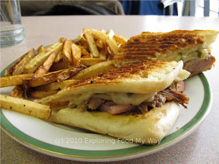 Cuban Sandwich and French Fries