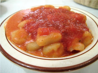 Side of Gnocchi with Meat Sauce