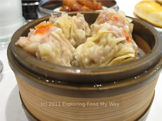Steamed Dumplings with Pork and Shrimp