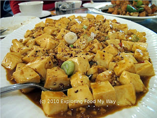 Ma Po Tofu (with shredded pork)