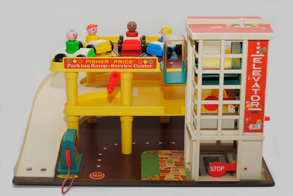 Classic Fisher Price Toys : L to the third have you talked your child about