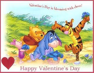 Winnie The Pooh Valentine Wishes