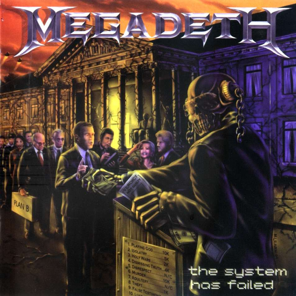 METAL UNIVERS: The System Has Failed - Megadeth (2004)