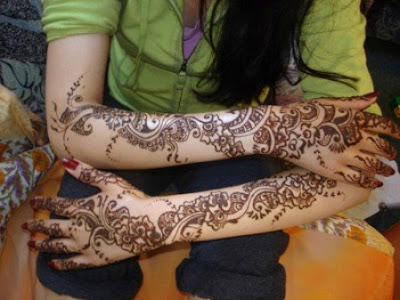 Bridal Mehndi Designs 2010