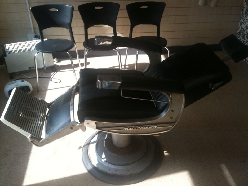 usedbelmontbarberchairs used belmont barber chairs