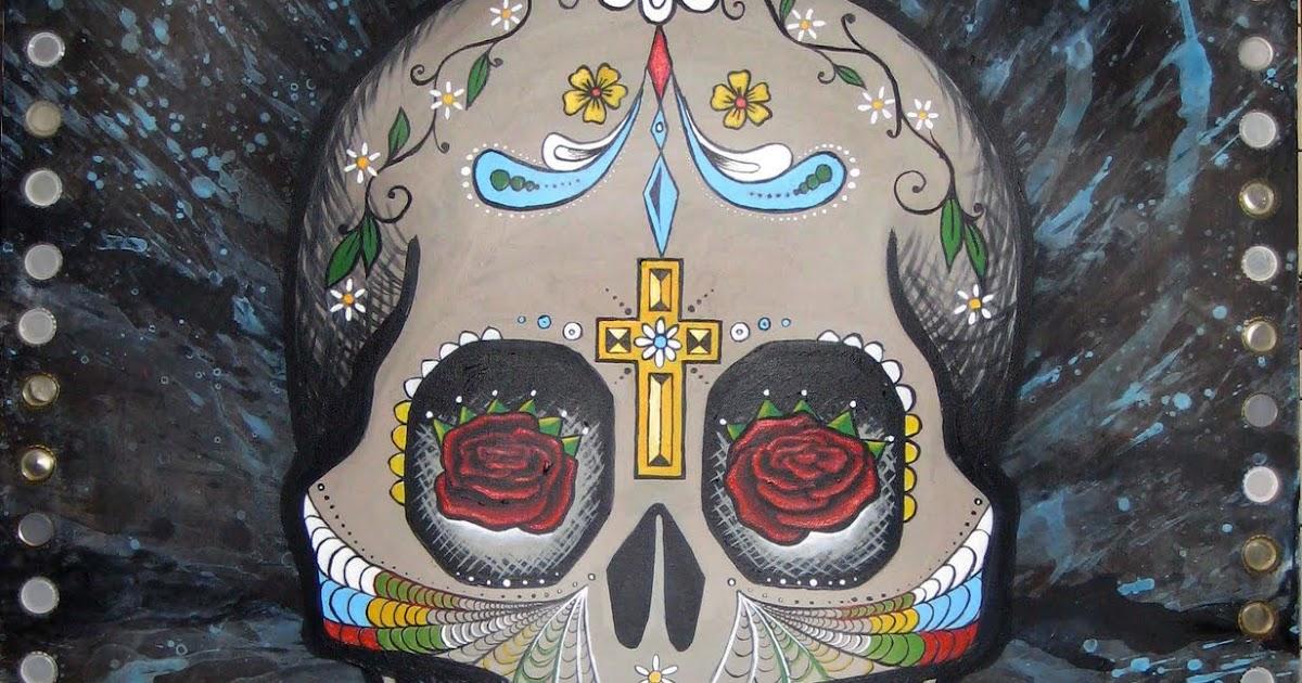 Kristi mayfield dia de los muertos for Dia de los muertos mural