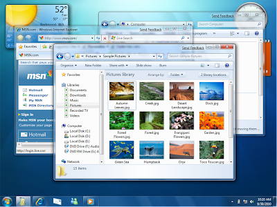 Windows 7beta