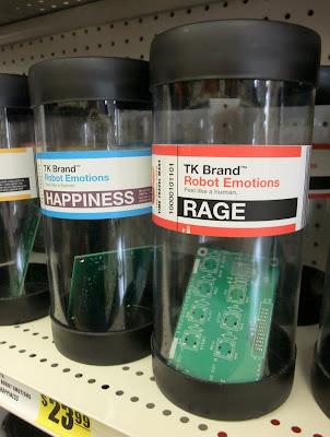 Imagen: Emociones de Robot: Alegría, Rabia
