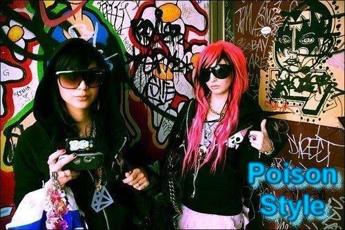 Poison garotas com estilo