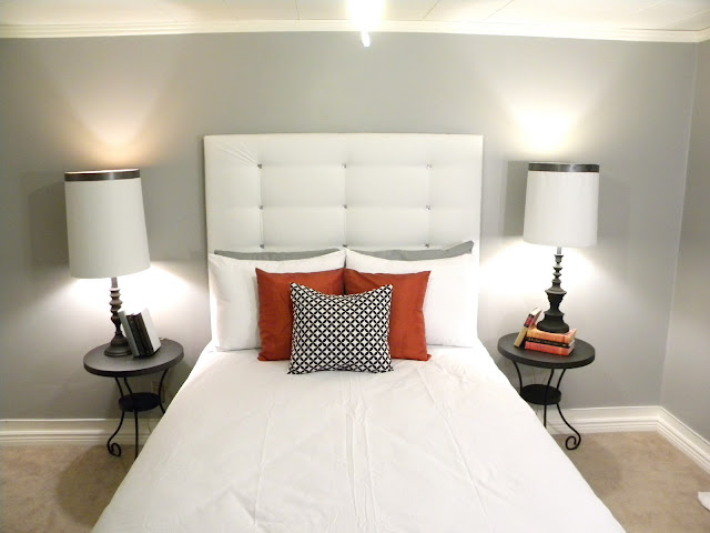 Chic DIY headboard
