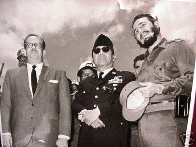 Soekarno dan Fidel Castro