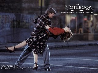 the film The Notebook ...