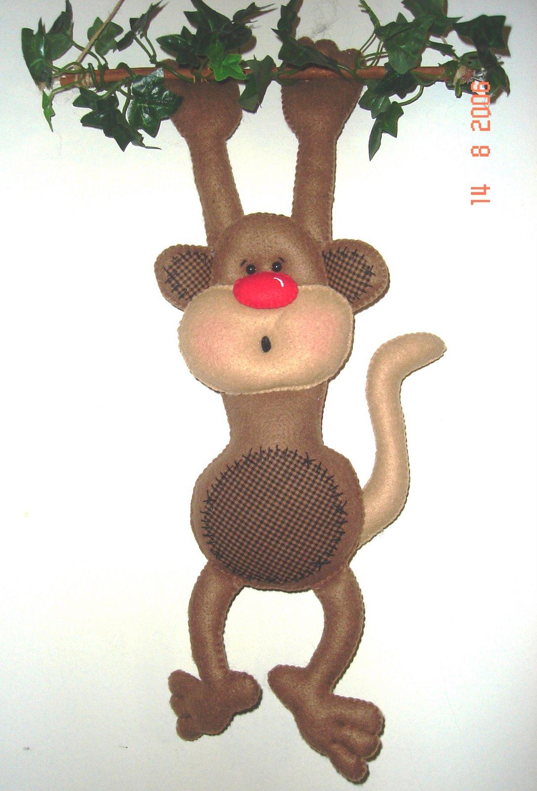 Поделка с новым годом обезьяны