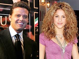 Luis Miguel es ignorado por Shakira