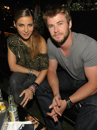 Chris Hemsworth y la  Pataky se casan