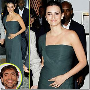 Penélope Cruz pronto nacerá hijo