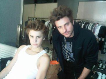 Justin Bieber peinado Pattinson Rolling Stone