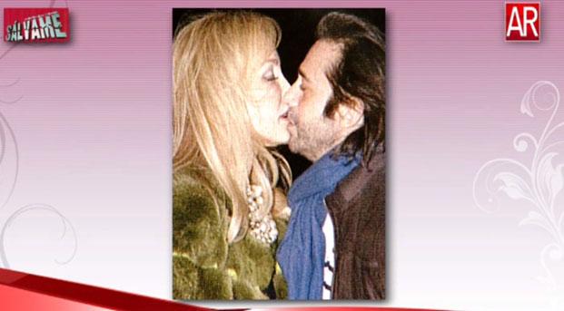 Carmen Lomana y el beso a Jordi Mollá