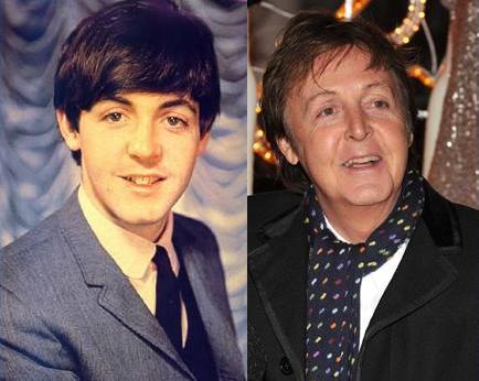 Astros do rock antes e depois Paul4