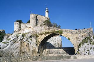 Castillo de Santa Ana, Castro-Urdiales, Cantabria, Spain