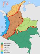 El territorio continental colombiano está constituido en un 33% por montañas . (regionsofcolombia)