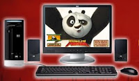 HP e YouTube - Kung Fu Panda