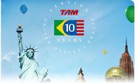 TAM 10 Anos Rota EUA - Brasil