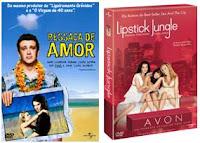 DVD Magazine - Lipstick Jungle: Selva de Batom 1ª Temporada e Ressaca de Amor