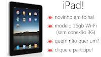 Escrito Brasil sorteia iPad