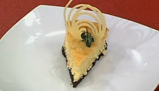 Receta Postre Cheesecake de Chocolate Blanco