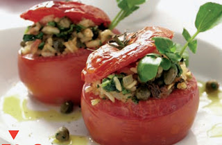 Recetas Comida Tomates Rellenos Clasicos